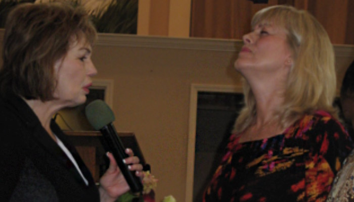 March 2012: Ordination with Barbara Wentroble of Intl. Breakthrough Ministries